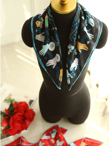 AS-1174 hand mix scarf