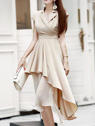 D3373 Rocken Unbalanced Dress