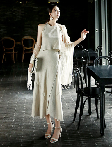 D3382 Mary Holter Linen Two Piece (45reorder)