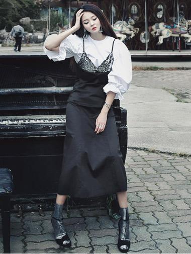 D3390 Elysee Spangle Dress