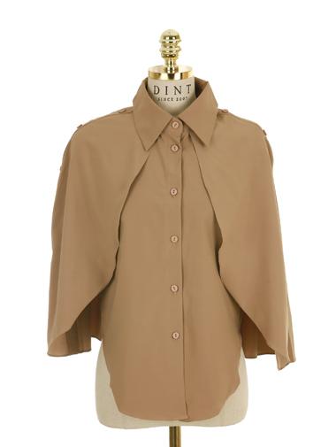 S227 Wing Detail Kara Shirt