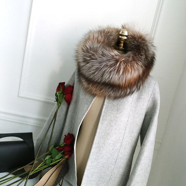 AS-1239 Vain Real Fox ring warmer