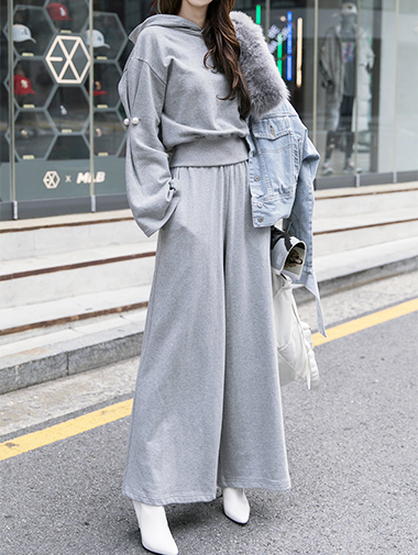 P-1927 Cozy Wide Casual Pants (9reorder)