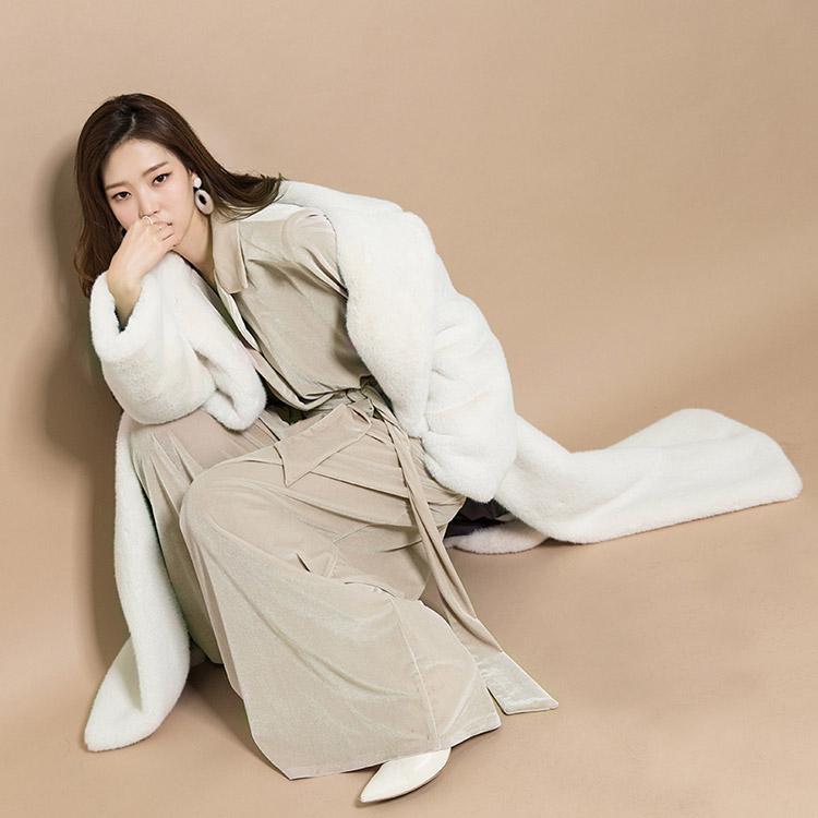 J501 mood Maxi Long Vent Coat (30th REORDER)