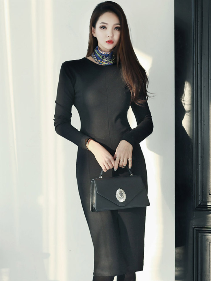 D2909 Occult napping Dress * L size making * (101reorder)