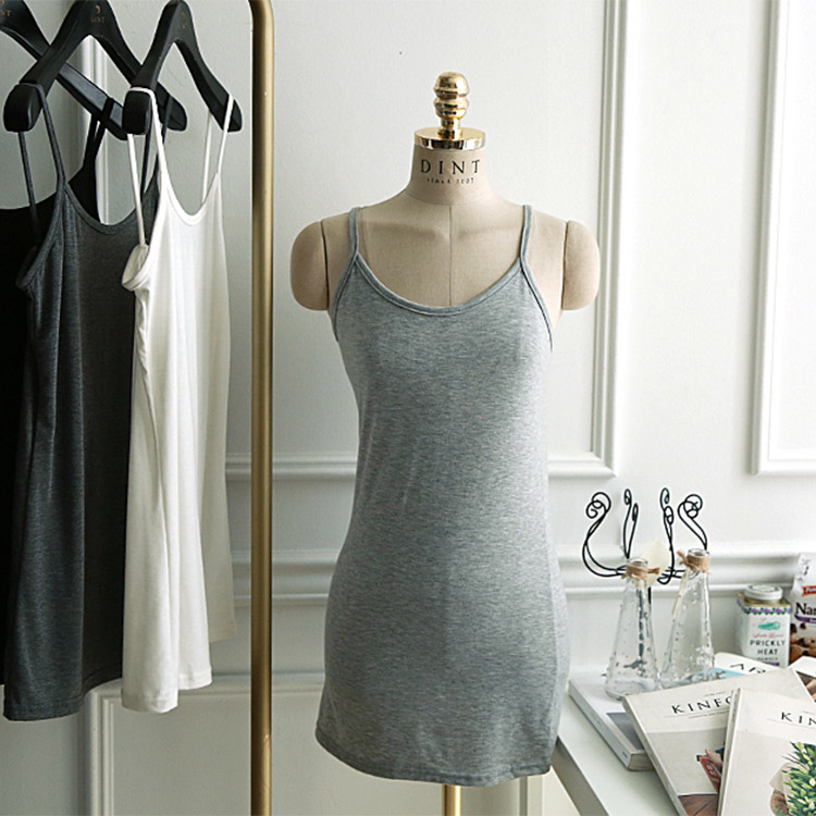 E-4199 multi Basic Inner Sleeveless shirts