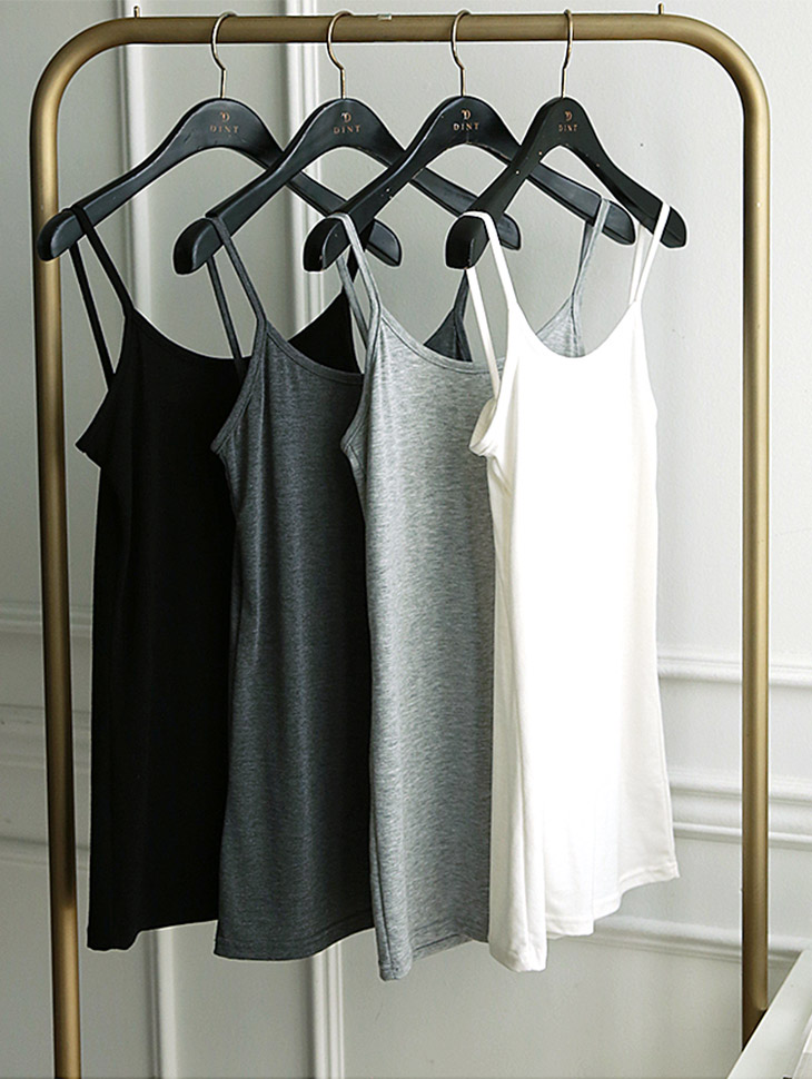 E-4199 multi Basic Inner Sleeveless shirts