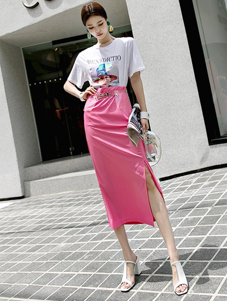 SK1729 color pop minimum Skirt (7reorder)