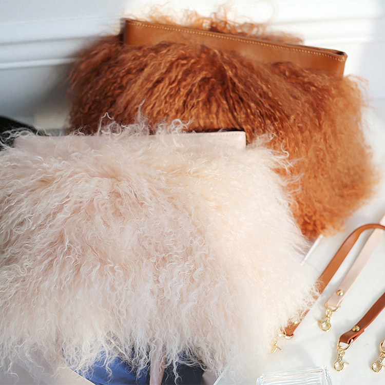 A-976 Commander Fur Clutch bag