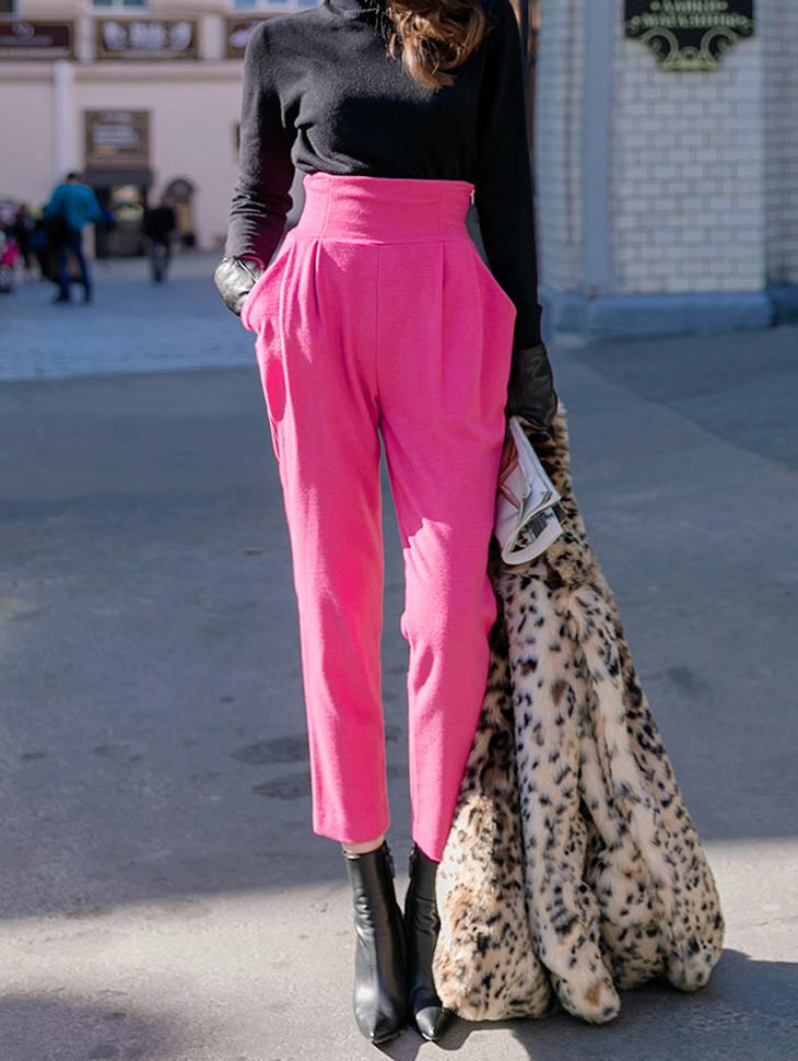 P1813 Anz Vivid Wool Pants