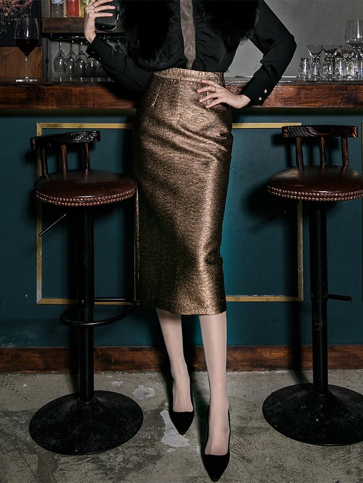 SK1806 Patylene Metal Skirt (12th REORDER)