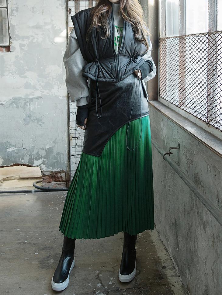 SK1809 ANA Wrinkles Skirt (6reorder)