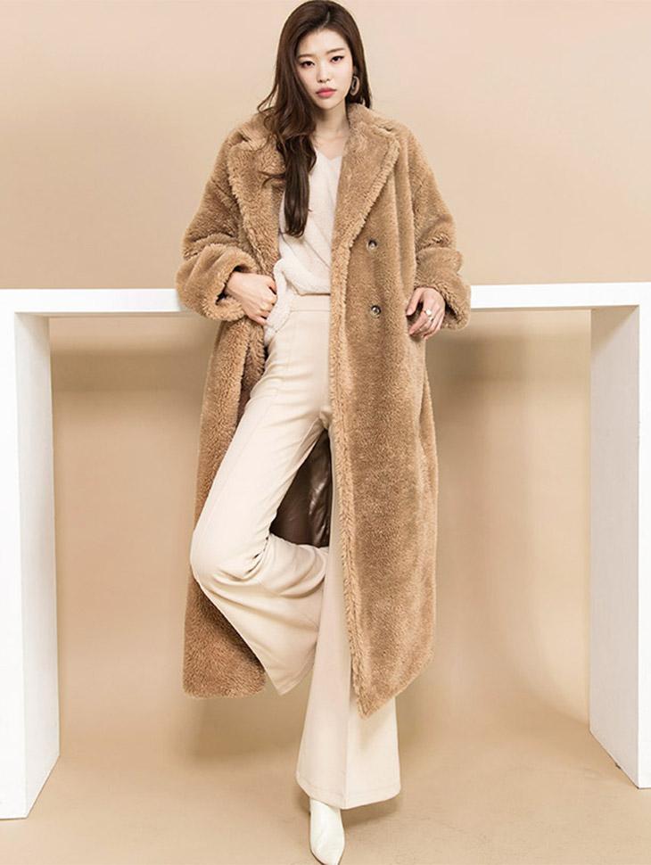 J499 Roy Long Long Coat Coat
