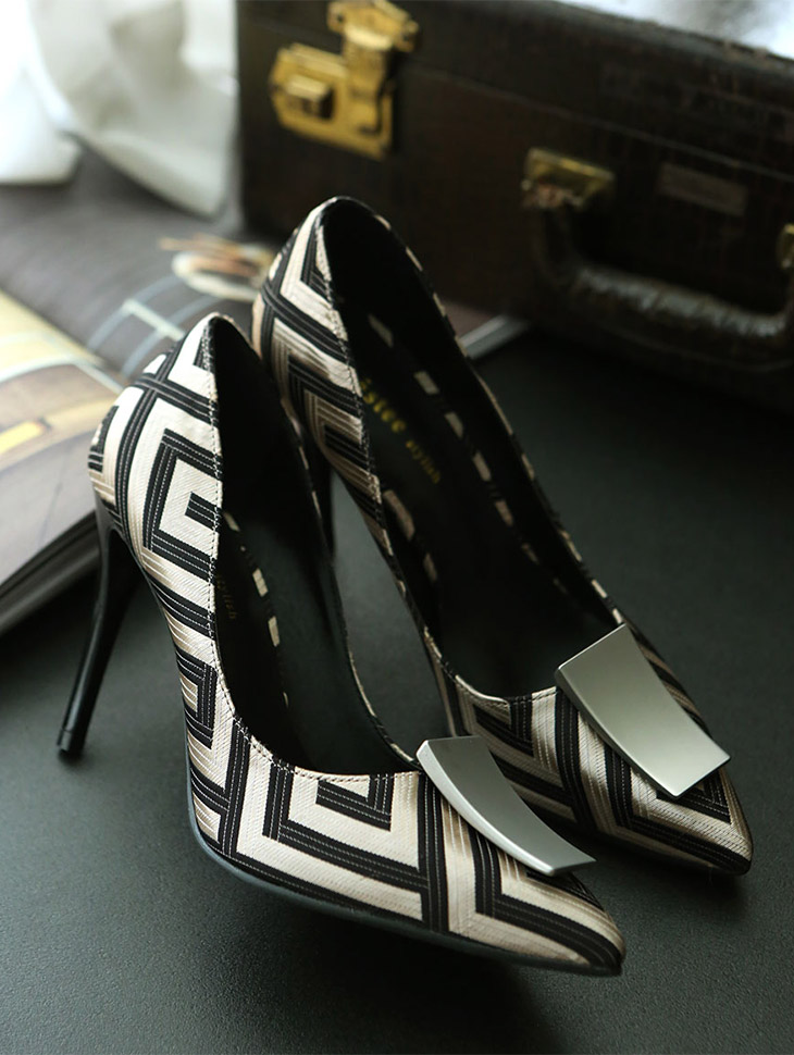 HAR-472 Luxury Square Pump Hill * HANDMADE *
