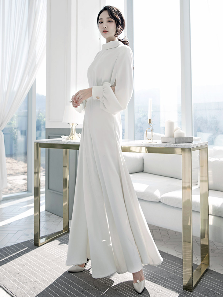 D3475 cowl slit pull wide jumpsuits (10th referer)