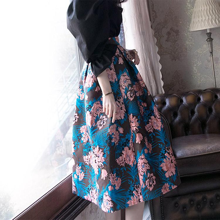 SK1637 Flower Sack Volume Skirt