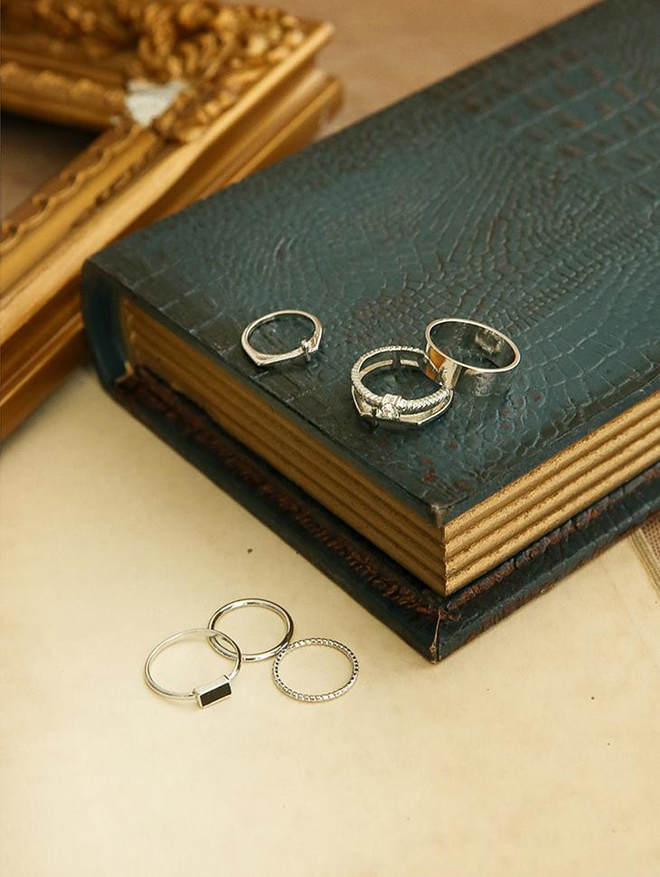AJ-3907 ring (7Pieceset)