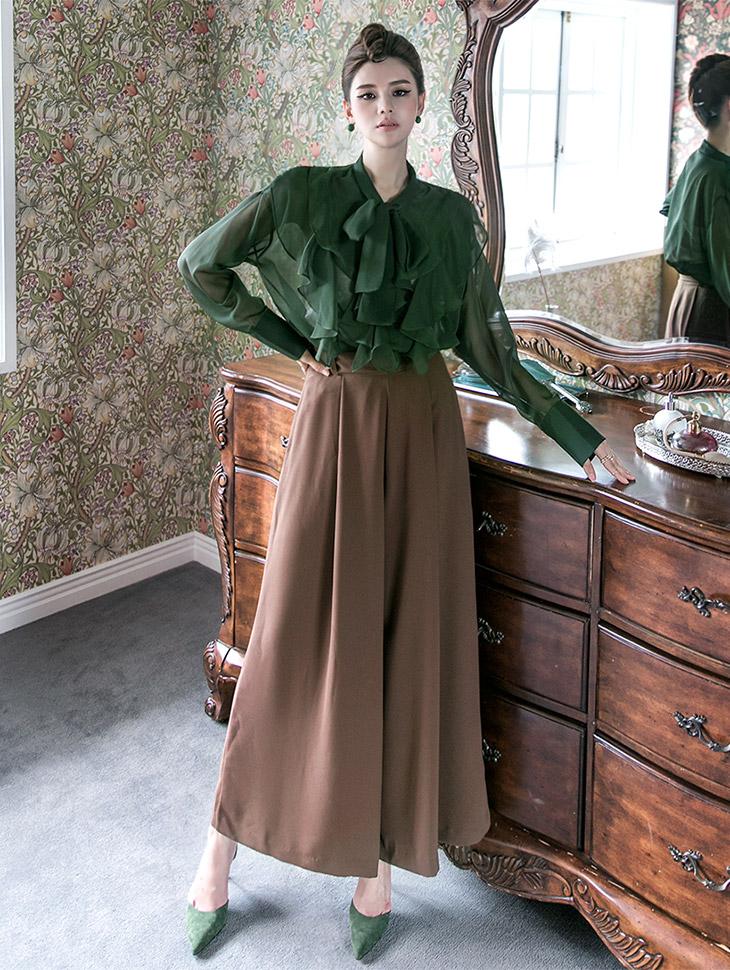 P1911 Mild Sophie wide Pants (Lot set) (20th REORDER)
