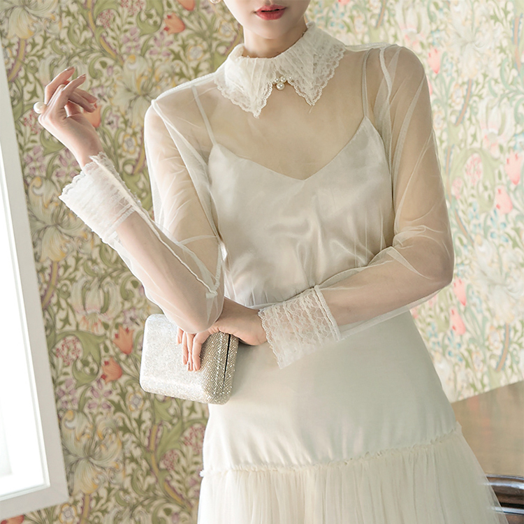 B2346 Dirk Lace Collar Blouse (87th REORDER)