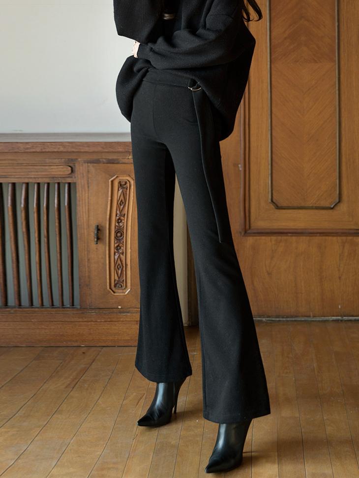 P1972 line Banding Slim Long Pants (3reorder)