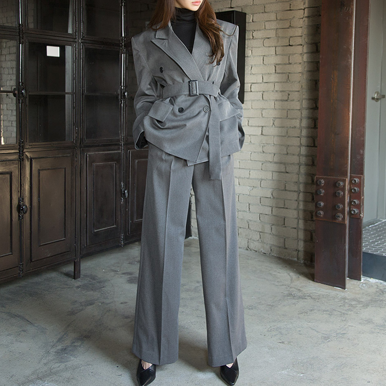 P1981 Classic wide Long Modern Pants (12TH REORDER)