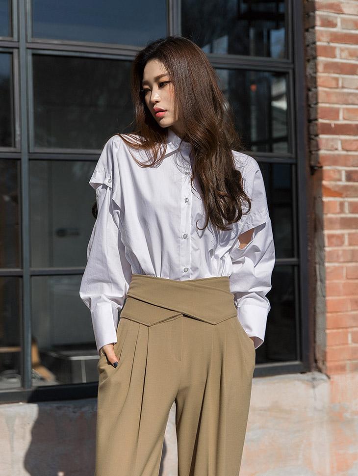 S285 Button Vent Cotton Mellie Shirt