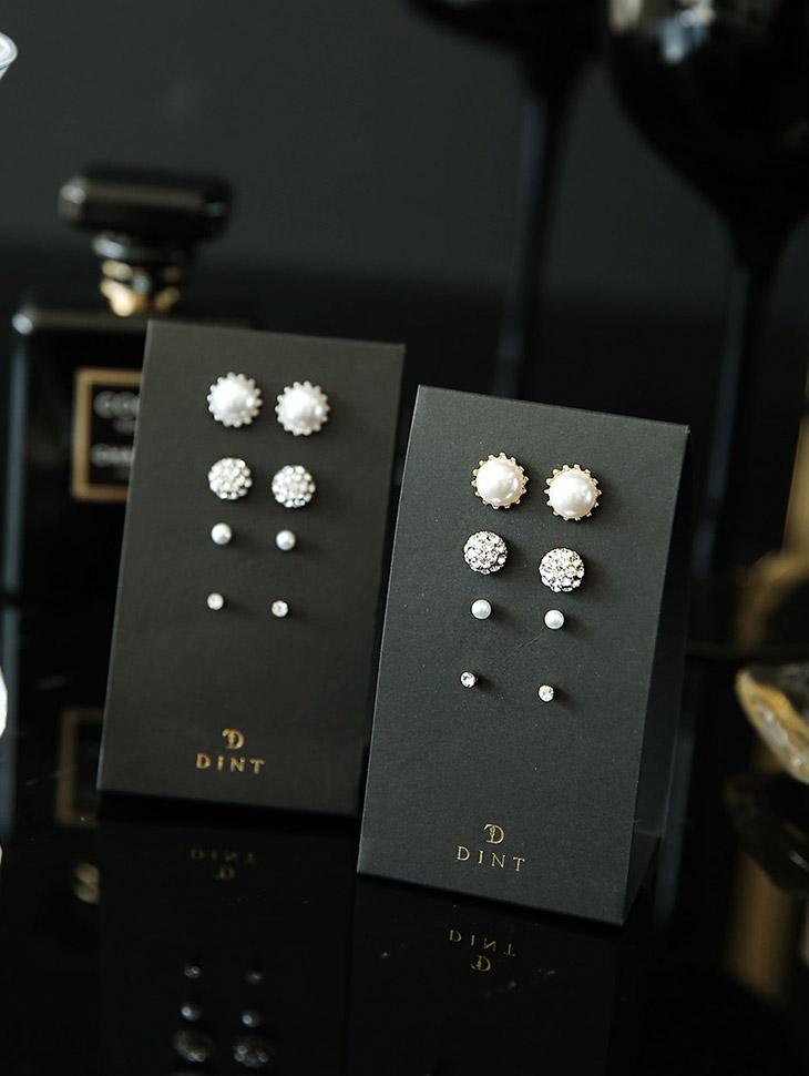 AJ-4313 earring (8Pieceset)