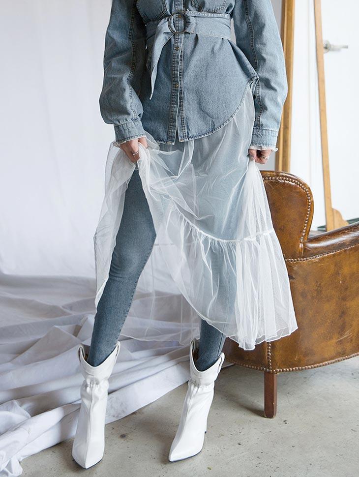 PJ360 Washing Slim Fit Denim Pants * L size making *