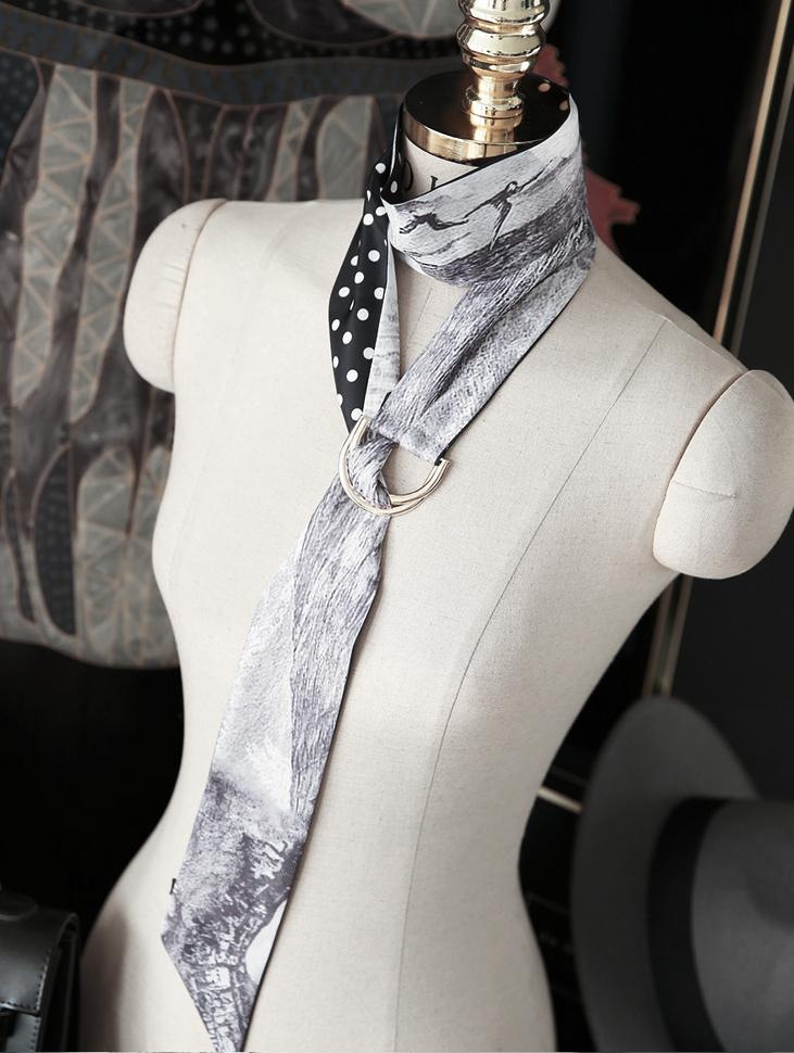 AS-1348 Karlin printing scarf