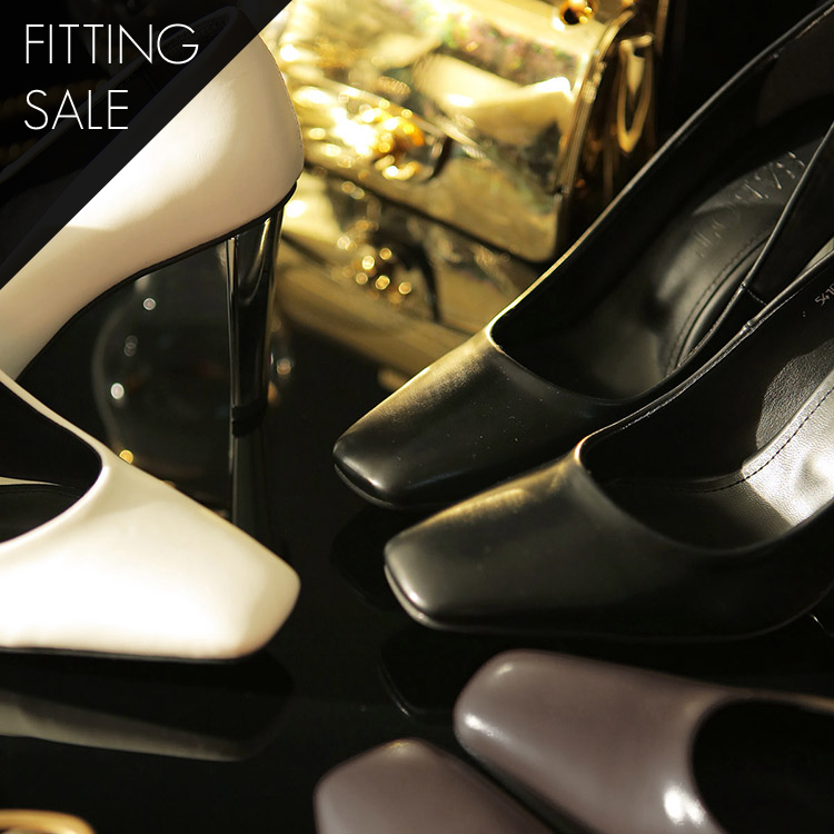 PS1515 Rear Front Square High heel * Fitting Sale *