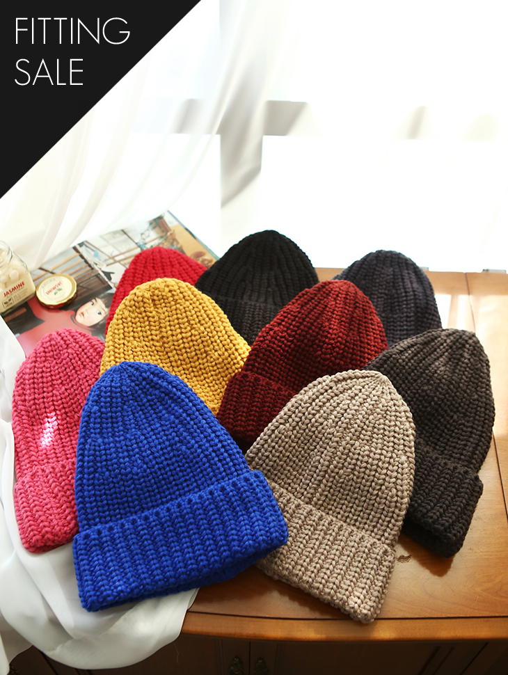 PS1503 Triangle key point Beanie * Fitting Sale *