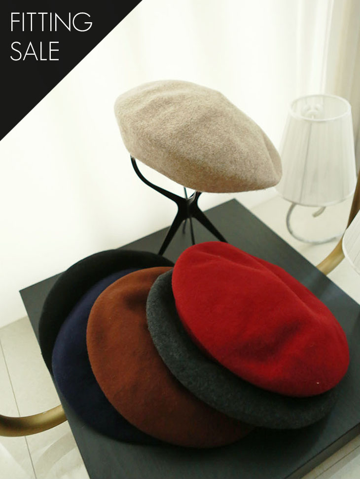 PS1506 Phanie Basic Beret * Fitting Sale *