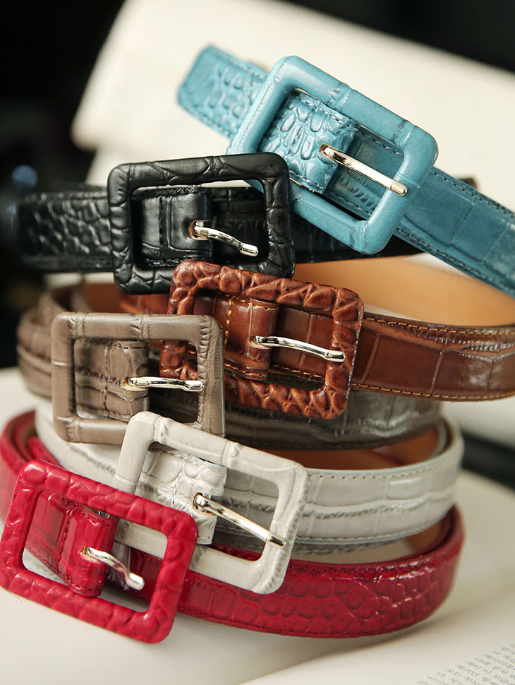AT-312 Deco Animal Leather Belt