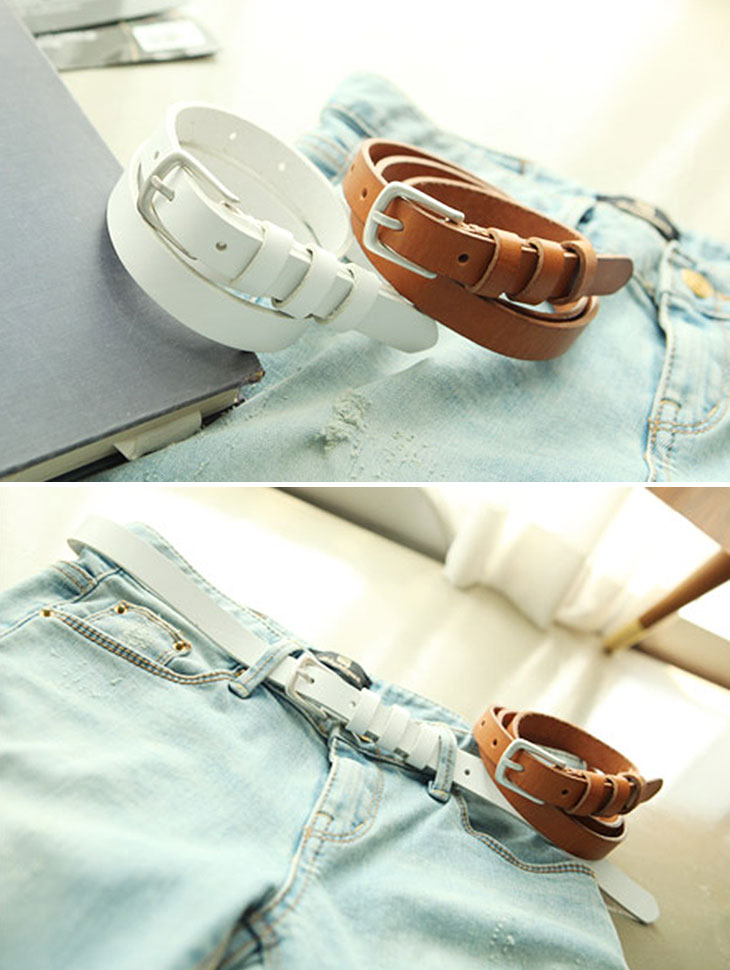 AT-142 Cowhide Belt (33reorder)
