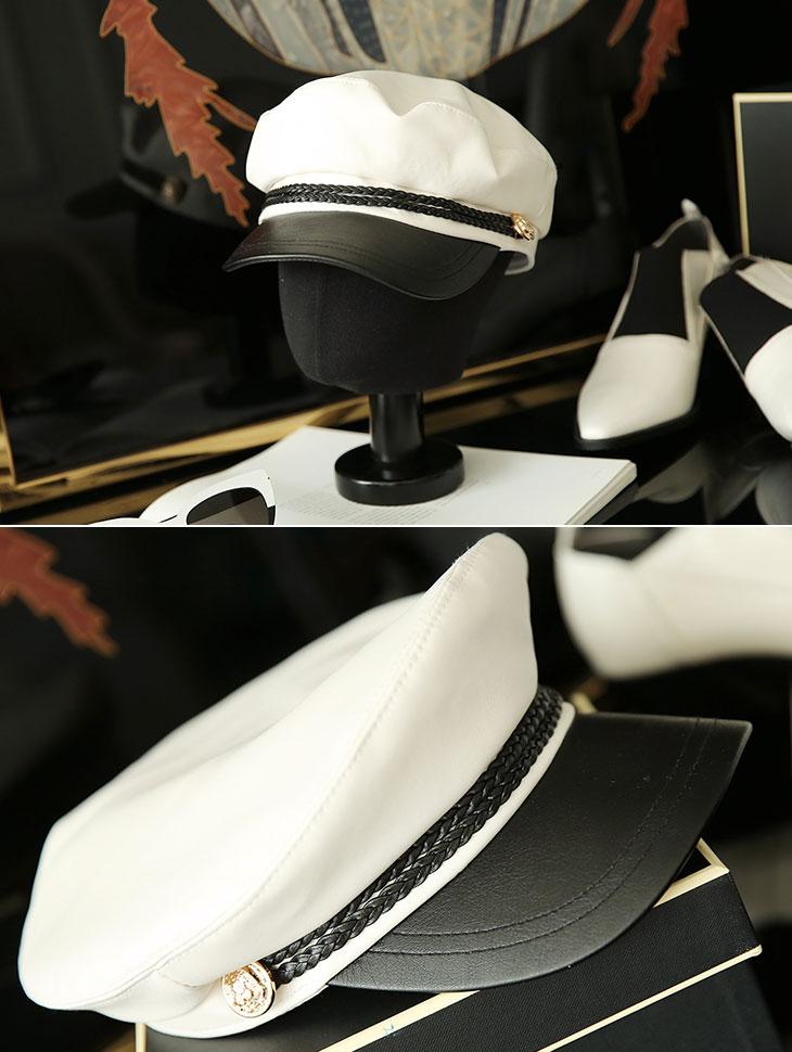 AC-508 feminine Leather Maaros Hat