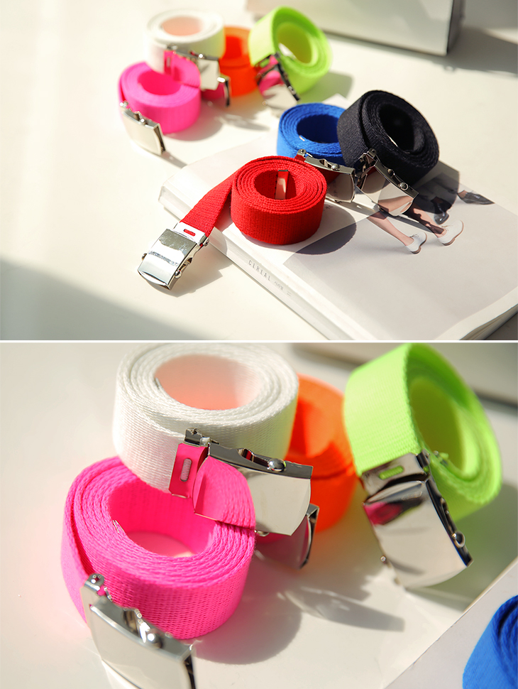 AT-314 Waving Neon Color Belt