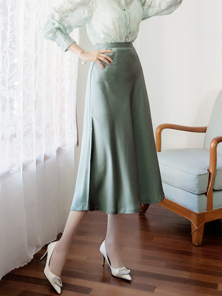 SK1856 Release Shatin Glossy Skirt * L Size Making *