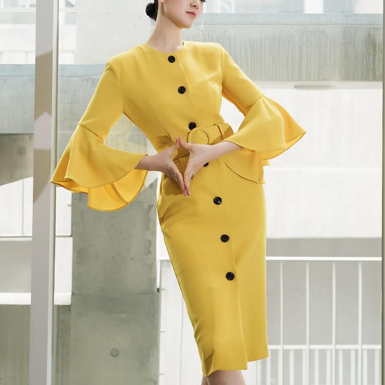 D3763 lena sleeve pull Dress (Lot set) (12th REORDER)