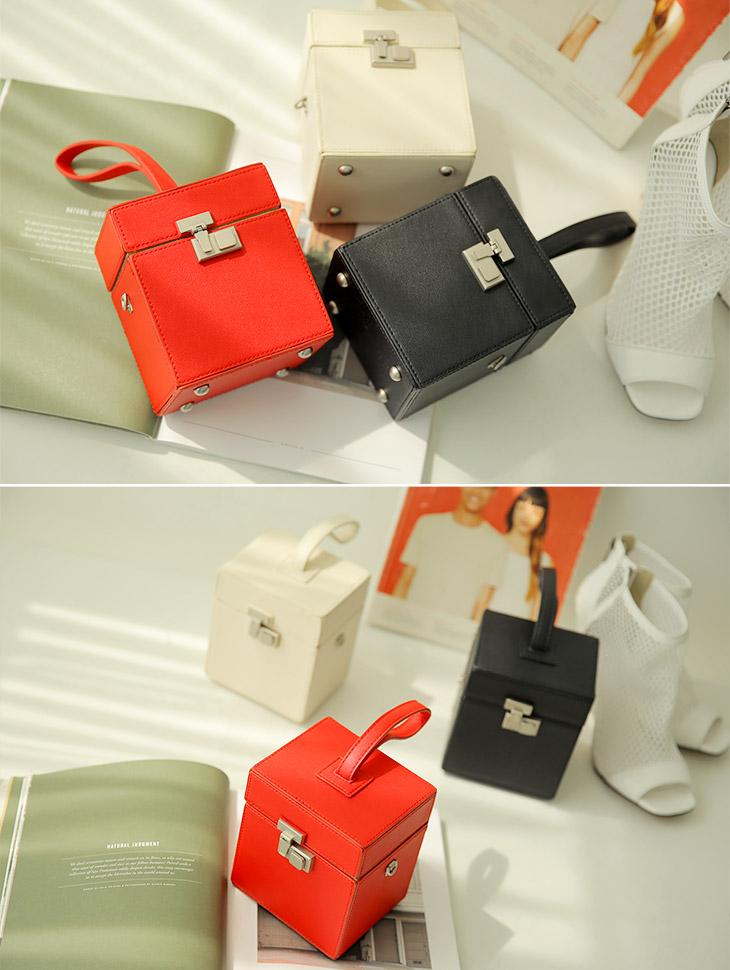 A-1014 Hazel Square box mini bag