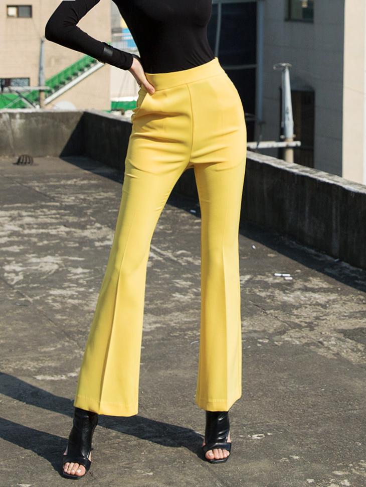 P2031 Straight Slim line Long Pants