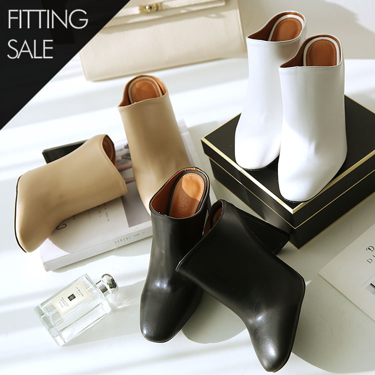 PS1557 AmiClose Gold Mule * Fitting Sale *