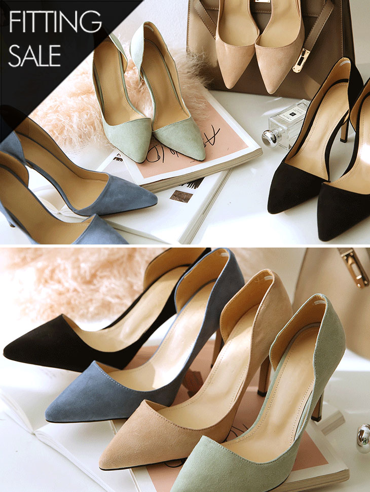 PS1560 Soft Color high heels * Fitting Sale *