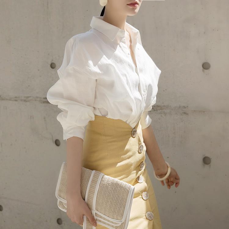 S295 Po Lin Linen Shirt (9reorder)