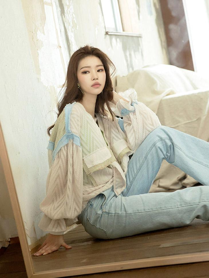 S299 Tweed color nokara shirt