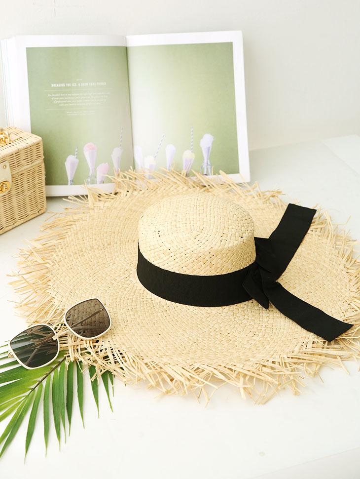 AC-525 Natural Raffia Hat