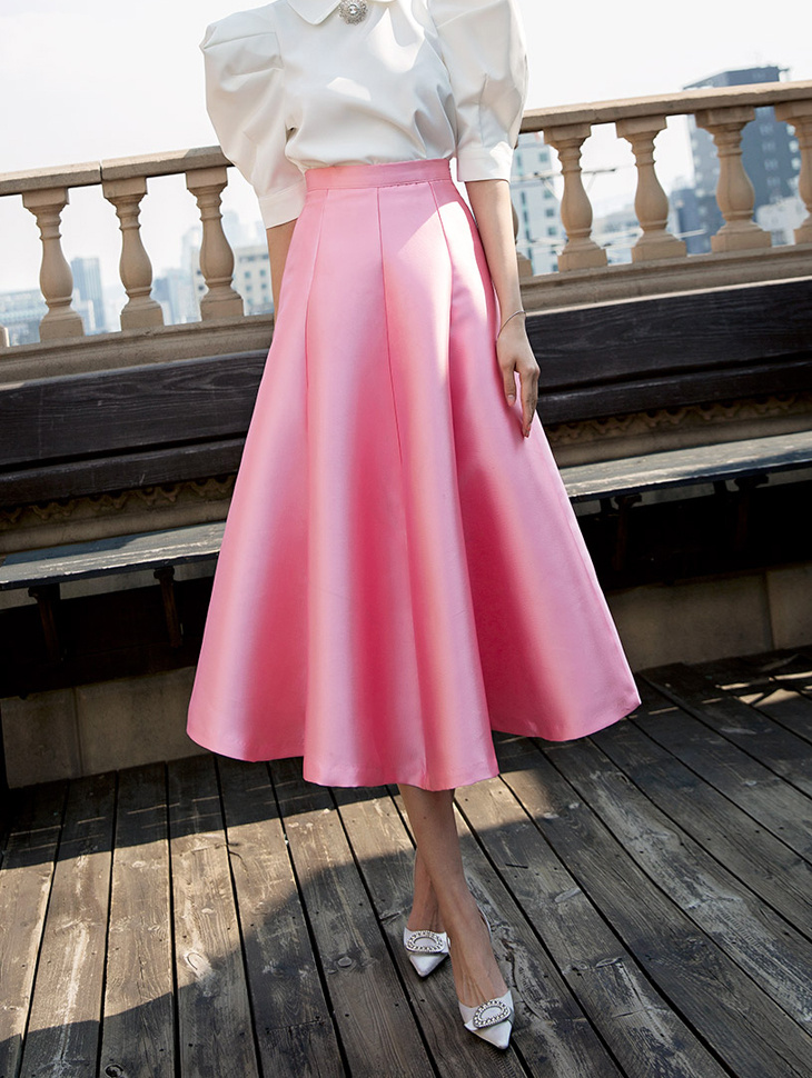 SK1684 Love Blossom Volume Skirt (6reorder)