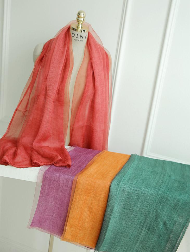 AS-1381 Vivid Silk Scarf