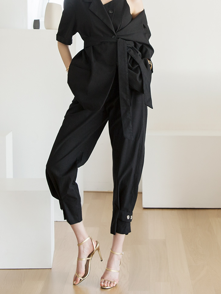P2039 Hayes Button Point Pants