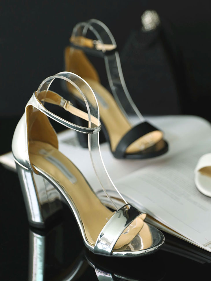 AR-2283 Maybe Ankle Strap High heels
