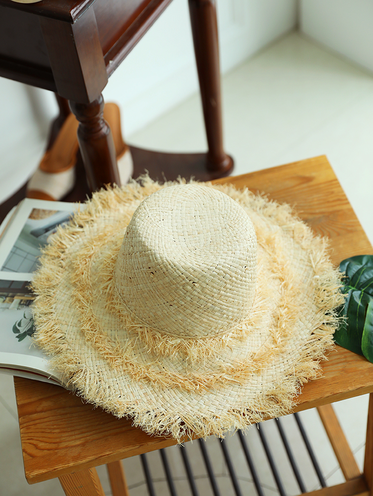 AC-541 triple cancan Raffia Hat